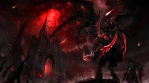 World Of Warcraft World Of Warcraft The Burning Crusade Illidan Stormrage Video Games 1920x1200 Wallpaper