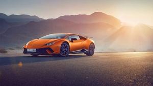 Car Lamborghini Lamborghini Huracan Orange Car Sport Car Supercar Vehicle 2048x1310 wallpaper