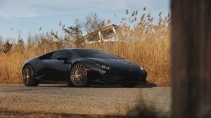 Lamborghini Car Black Car Sport Car Supercar 6016x4016 Wallpaper