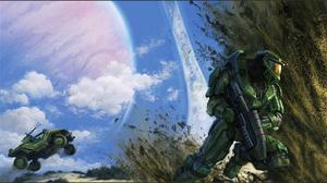 Video Game Halo 1600x889 Wallpaper