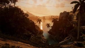 Far Cry 6 Video Games Palm Trees Sunlight 1920x1080 Wallpaper