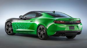 Car Chevrolet Camaro Krypton Concept Car Green Car Muscle Car 1920x1080 Wallpaper