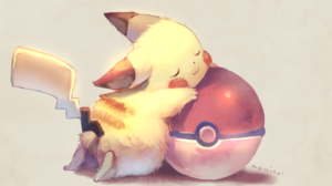 Pikachu Pokeball 1920x1203 Wallpaper