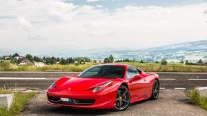 Ferrari Ferrari 458 Car Red Car Sport Car Supercar 2048x1365 Wallpaper