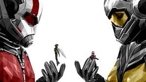 Ant Man Marvel Comics Wasp Marvel Comics 3840x2684 Wallpaper