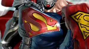 Artwork Superhero Superman Comic Art Cyborg ArtStation DC Comics Cyborg Superman 1920x2397 Wallpaper