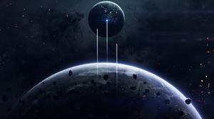 Artwork Space Planet 1920x1200 Wallpaper