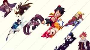 Shingeki No Kyojin Dragon Ball Fairy Tail Ryuk Death Note Death Note Edward Elric Fullmetal Alchemis 3840x2160 Wallpaper