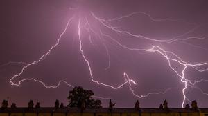 Earth Lightning Sky Storm 5601x3734 Wallpaper