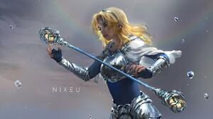 Blonde Lux League Of Legends Woman 1920x1080 Wallpaper
