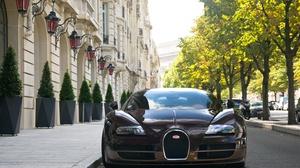 Brown Car Bugatti Bugatti Veyron Car Sport Car Supercar Vehicle 4406x2919 wallpaper