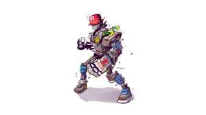 Sci Fi Robot 3000x1600 wallpaper