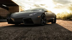 Lamborghini Lamborghini Reventon Car Vehicle Black Cars 1920x1280 Wallpaper