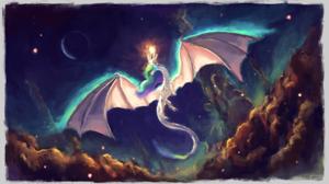 Dragon Princess Celestia 1920x1080 Wallpaper