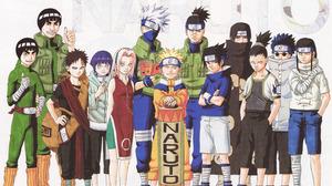 Might Guy Rock Lee Gaara Naruto Hinata Hy Ga Sakura Haruno Kakashi Hatake Naruto Uzumaki Sasuke Uchi 9000x6054 Wallpaper