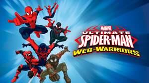 Miles Morales Peter Parker Spider Man Spider Man 2099 Spider Woman Ultimate Spider Man Tv Show 3840x2160 Wallpaper