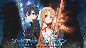 Asuna Yuuki Kazuto Kirigaya Kirito Sword Art Online Sword Art Online 1920x1077 wallpaper