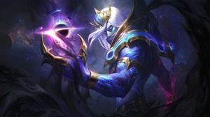 Vladimir Vladimir Leauge Of Legends Cosmic Break Outworld Devourer League Of Legends Riot Games Star 7680x4320 Wallpaper
