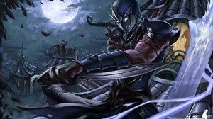 Shen League Of Legends 1920x1182 Wallpaper