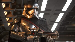 Star Wars Star Wars The Force Awakens Captain Phasma Star Wars Villains The First Order Movies Armor 3000x2000 Wallpaper