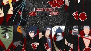 Deidara Naruto Hidan Naruto Itachi Uchiha Kakuzu Naruto Kisame Hoshigaki Konan Naruto Obito Uchiha P 1600x1200 Wallpaper