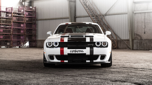 Dodge Challenger Dodge Car White Car Muscle Car 5550x3700 wallpaper