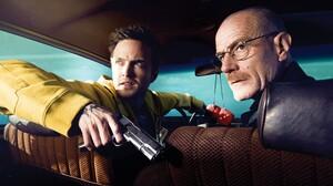 Aaron Paul Breaking Bad Bryan Cranston Jesse Pinkman Walter White 3600x2400 wallpaper