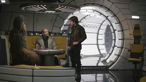 Alden Ehrenreich Chewbacca Han Solo Tobias Beckett Woody Harrelson 7952x5304 wallpaper