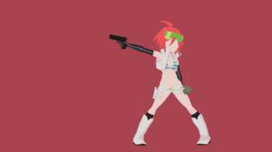 Anime Trigger Chan 3840x2160 wallpaper