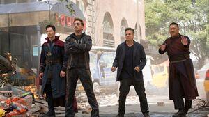 Benedict Cumberbatch Benedict Wong Bruce Banner Doctor Strange Iron Man Mark Ruffalo Robert Downey J 4500x3000 Wallpaper