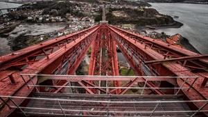 Architecture Edinburgh Forth Bridge Metal Scotland 2570x1707 wallpaper