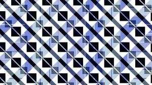 Shapes Blue White Pattern 1920x1080 Wallpaper