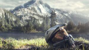 Halo Halo Infinite Helmet Master Chief 4702x3452 Wallpaper