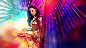 Armor Diana Prince Gal Gadot Lasso Of Truth Wings Wonder Woman Wonder Woman 1984 6400x2560 Wallpaper