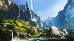 Concept Art Halo Reach 3000x1688 wallpaper