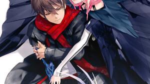 Guilty Crown Anime Portrait Display Yuzuriha Inori Ouma Shuu Hugging Redjuice 1280x1810 Wallpaper