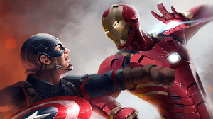 Captain America Iron Man Marvel Comics 3840x2160 Wallpaper