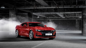 Car Chevrolet Chevrolet Camaro Chevrolet Camaro Ss Muscle Car Red Car Vehicle 4096x2734 Wallpaper