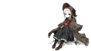 Dark Souls Bloodborne Plain Doll Plain Doll Bloodborne Dress Blonde 2560x1440 Wallpaper