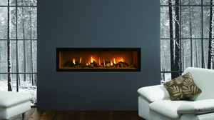 Snow Winter Fire Couch Room 1920x1080 Wallpaper