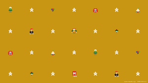 16 Bit Nintendo Pixel Art Super Mario Kart 1920x1080 wallpaper
