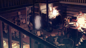 Book Ghost Girl Library 2000x1089 Wallpaper