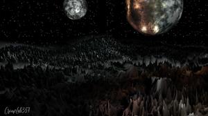 Space Art Fantasy Art 3D Graphics 1920x1080 Wallpaper