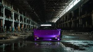 Car Lamborghini Lamborghini Diablo Purple Car Sport Car Supercar Vehicle 1920x1280 wallpaper