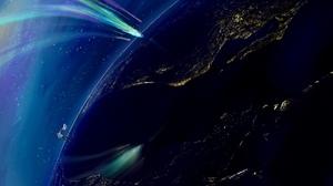 Comet Sky Space 2208x1242 Wallpaper