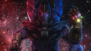 Thanos 2400x1350 wallpaper
