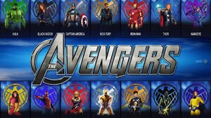 Black Widow Captain America Comics Hawkeye Hulk Iron Man Marvel Comics Ms Marvel Nick Fury Ronin Mar 1920x1200 Wallpaper
