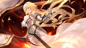 Jeanne D 039 Arc Fate Series Ruler Fate Grand Order 2200x1206 Wallpaper