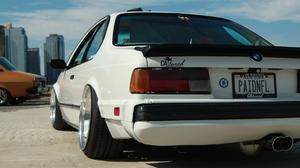 Classic Car Car Show BMW 3440x1440 Wallpaper