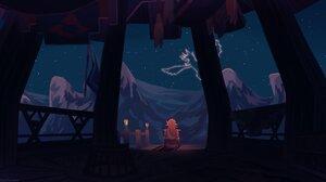Fantasy Art Artwork Video Game Art The Legend Of Zelda The Legend Of Zelda Breath Of The Wild Link 4096x2275 Wallpaper